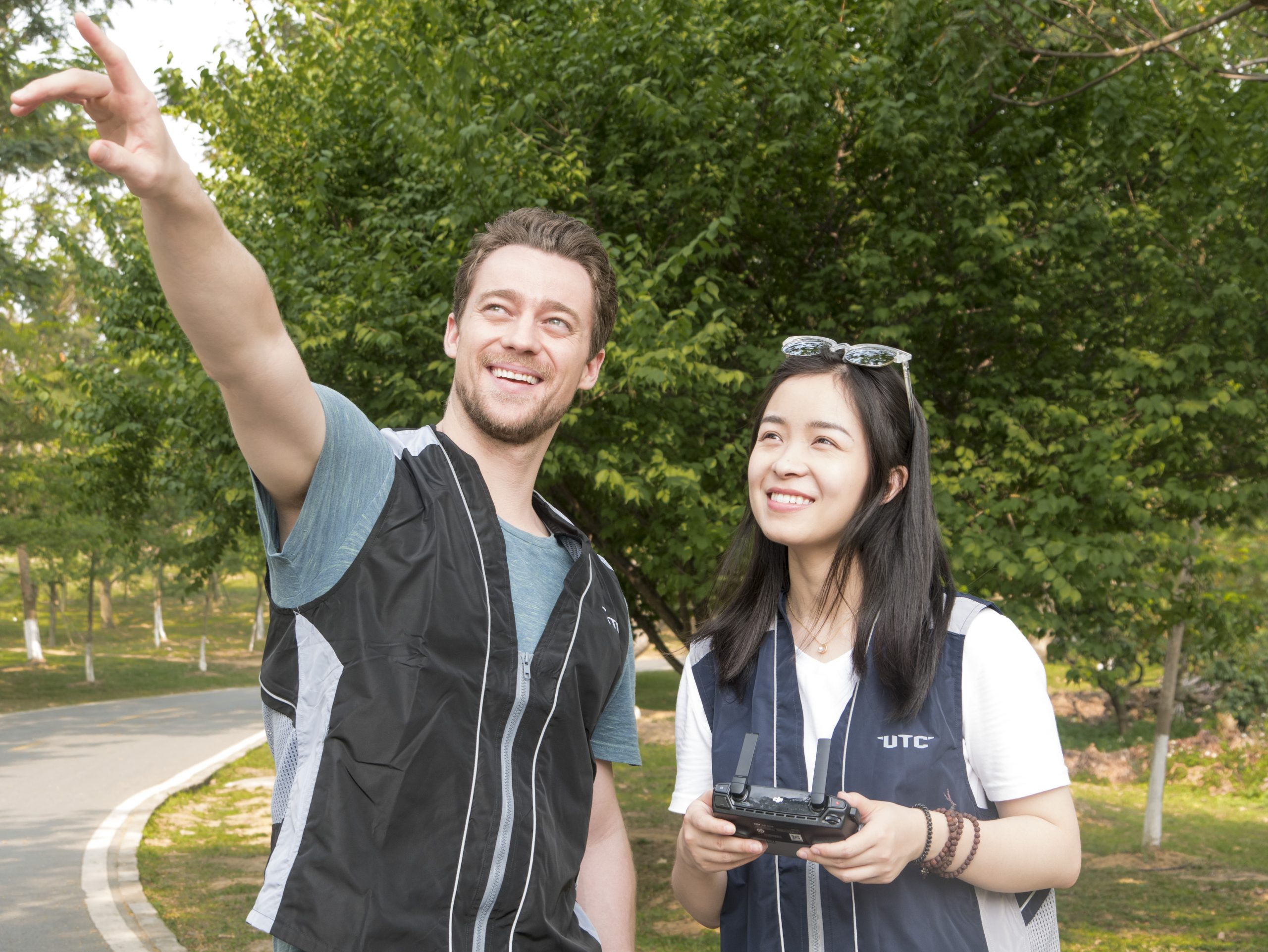 Drone Pilot Training Course Malaysia is having a drone sightseeing