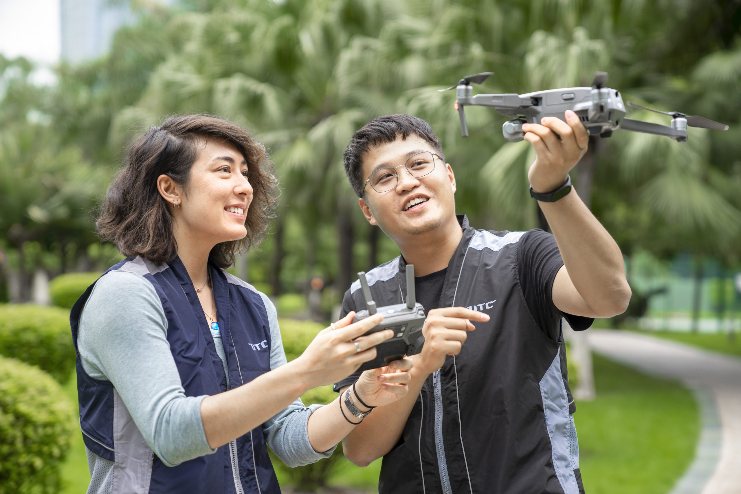 Instructors of Drone Training Malaysia preparing for UAS Pilot Training